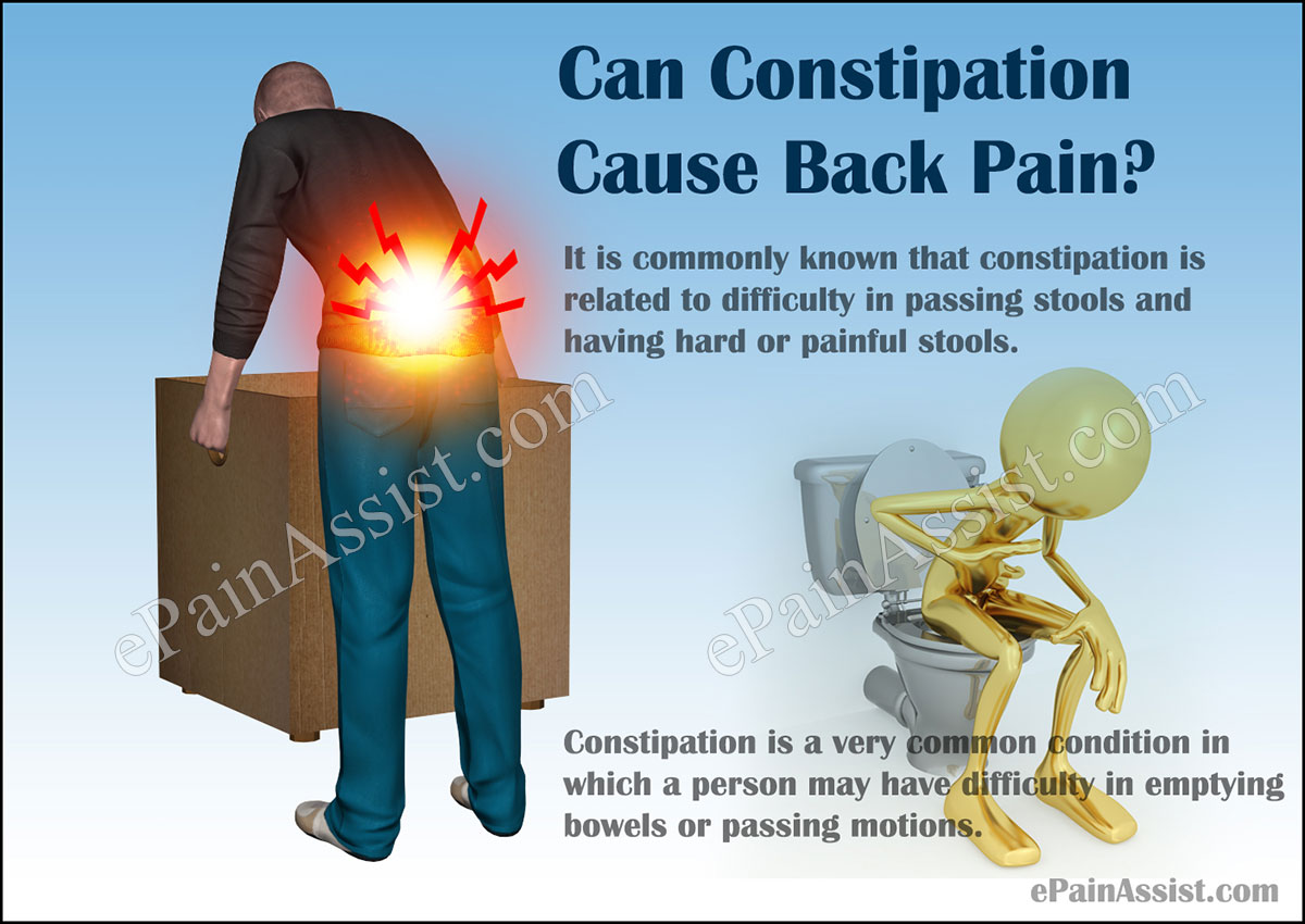 Can Constipation Cause Back Pa