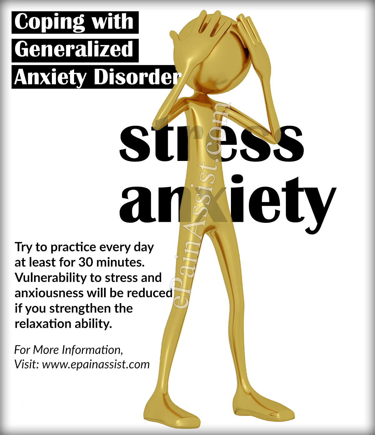 Coping With Generalized Anxiety Disorder Gad And