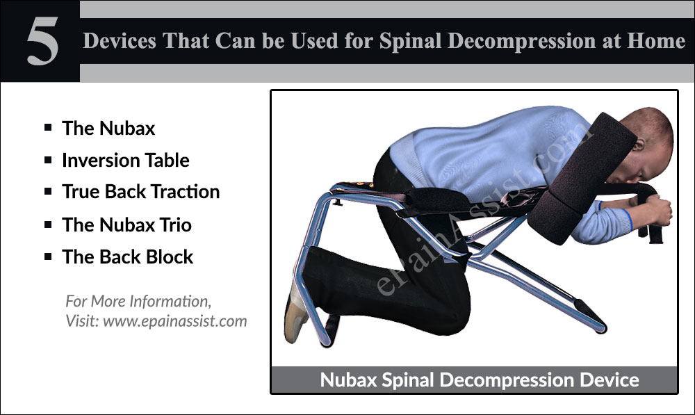 spinal decompression chair youth desk at home therapies devices exercises to decompress spine
