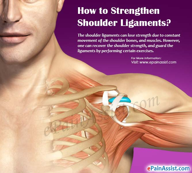 How to Strengthen Shoulder Ligaments