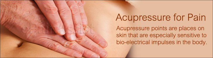 Acupressure for Pain