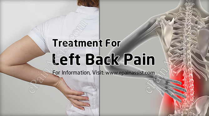 Left Back Pain Symptoms Causes Treatment Prevention