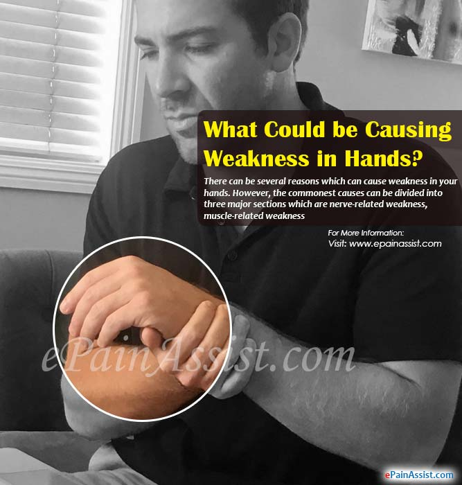 What Could be Causing Weakness in Hands?