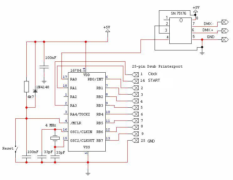 Led Symbol Wiring Diagram This Page Contains Schematics And Software To Build Your