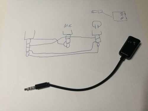 small resolution of trrs plug to two trs jack headset adapters on wiring diagram 3 5mm splitter