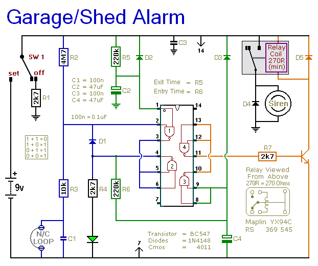Class A Wiring Fire Alarm Shed Garage Alarm Circuit Diagram