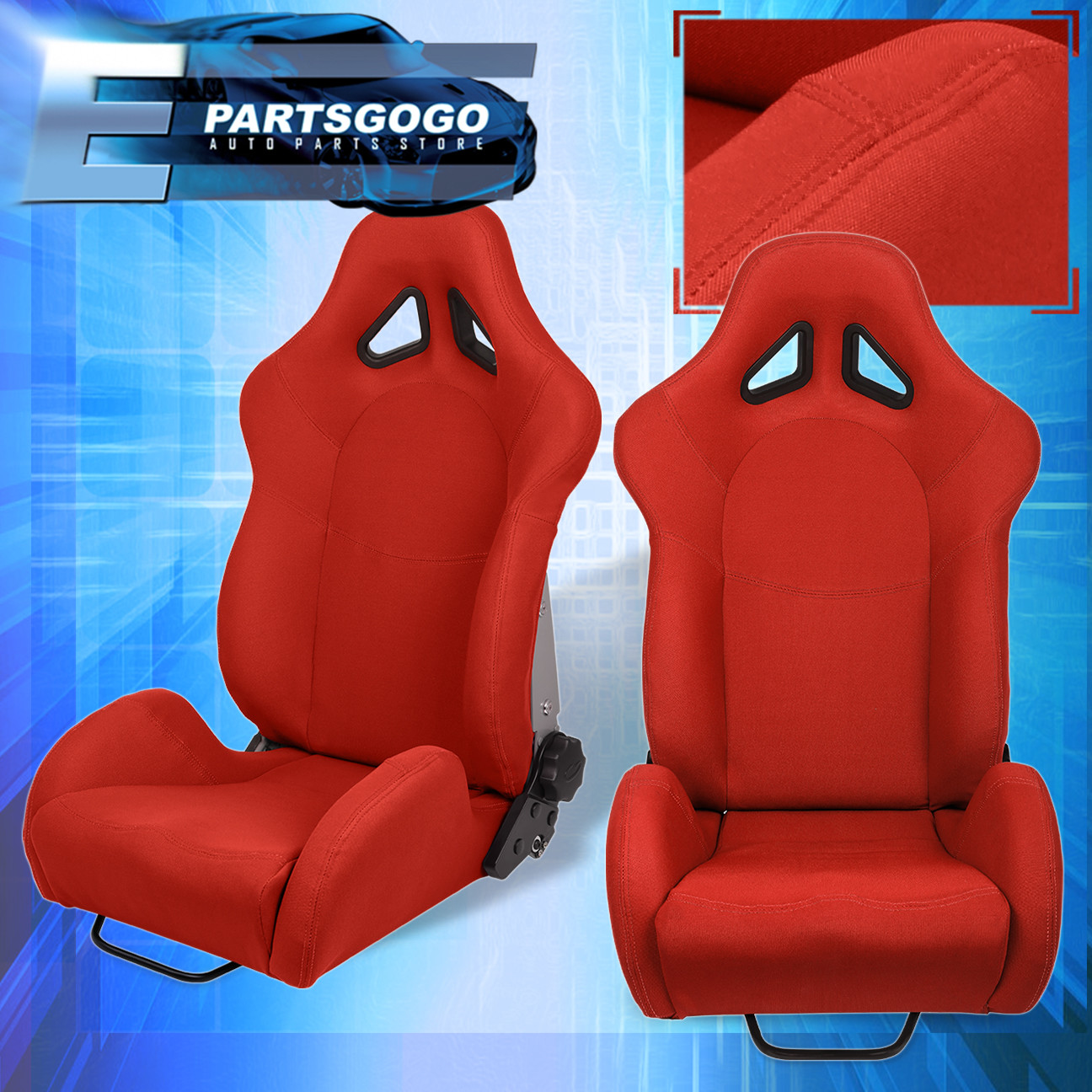 car seat office chair conversion kit two person swing for honda auto truck suv jdm vip reclinable bucket