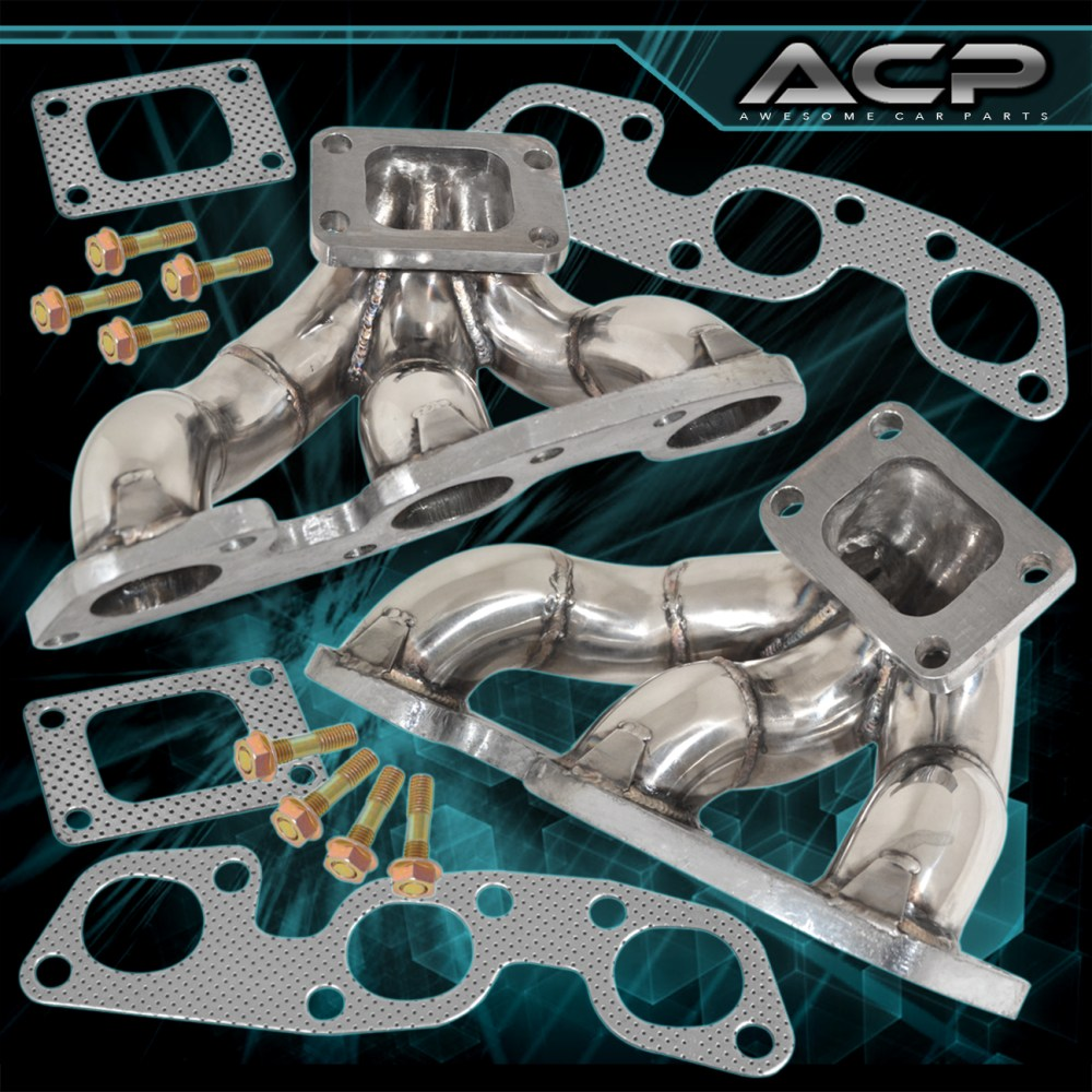 medium resolution of details about for jdm nissan skyline r32 r33 r34 gtr rb26 twin turbo stainless steel manifold