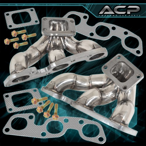 small resolution of details about for jdm nissan skyline r32 r33 r34 gtr rb26 twin turbo stainless steel manifold