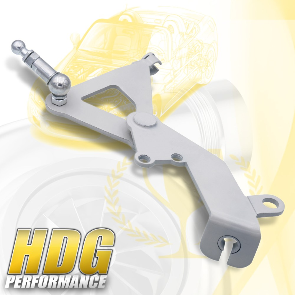 medium resolution of details about ef crx da integra civic cable to hydralic conversion mount transmission bracket