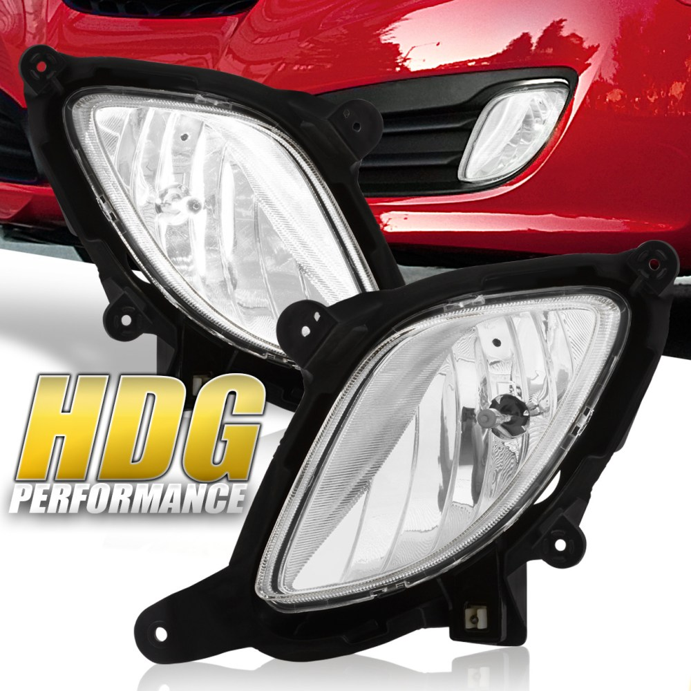 medium resolution of details about for 10 12 hyundai genesis coupe clear lens fog light lamp switch harness wiring