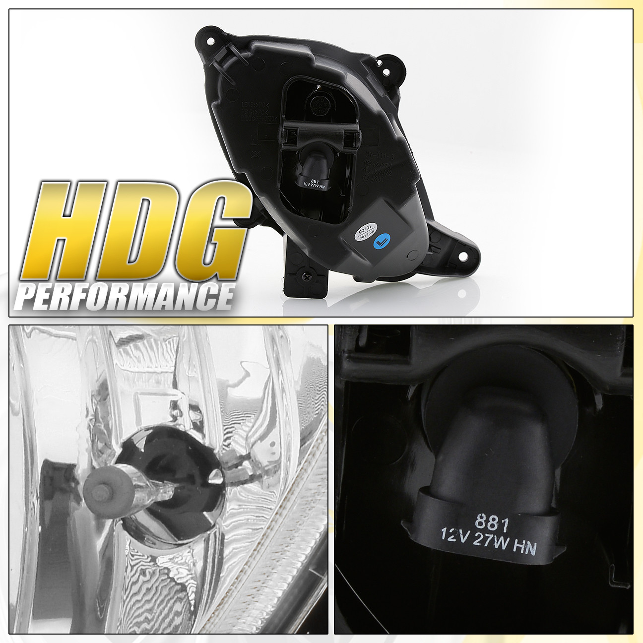 hight resolution of for 10 12 hyundai genesis coupe clear lens fog light lamp switch harness wiring