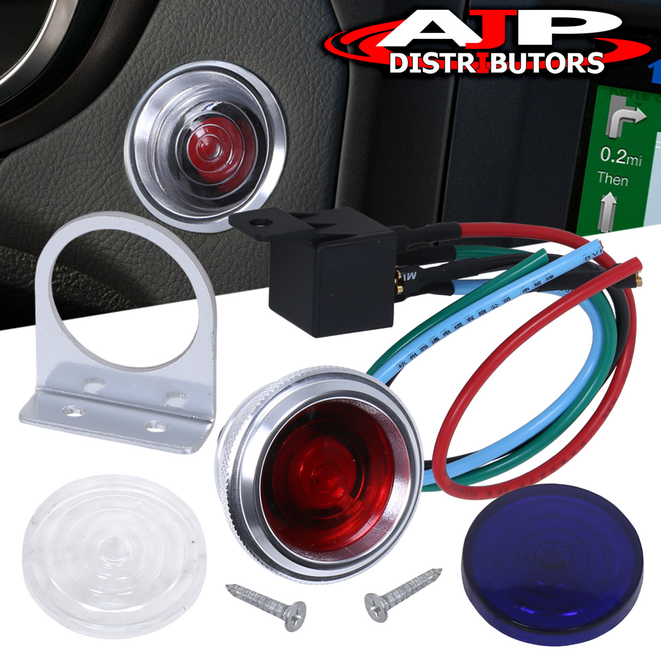 hight resolution of details about universal engine starter button push to start switch ignition 12v custom