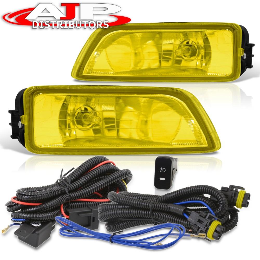 medium resolution of for 03 07 honda accord 4dr sedan 04 08 tl yellow fog lights switch harness