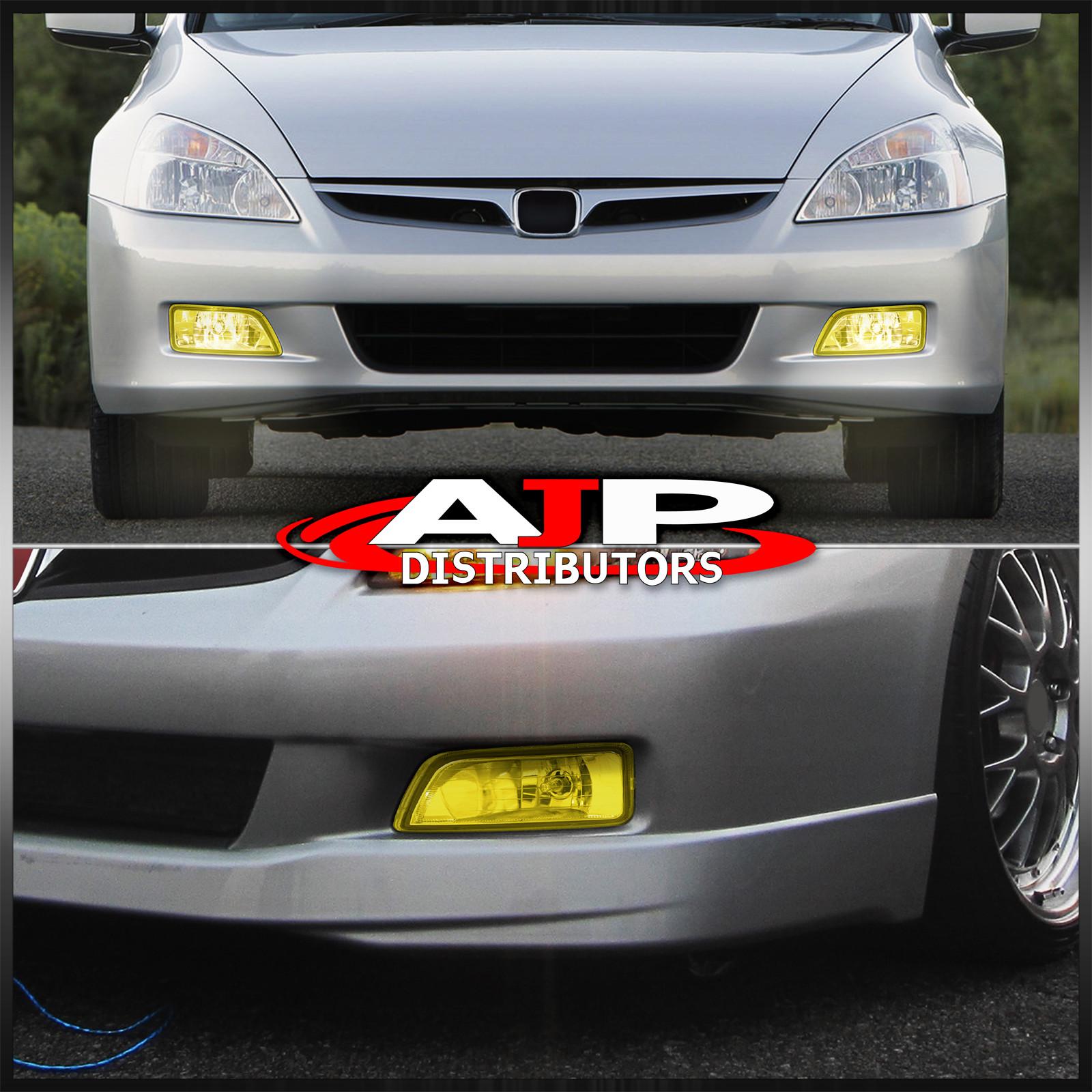 hight resolution of for 03 07 honda accord 4dr sedan 04 08 tl yellow fog lights switch harness