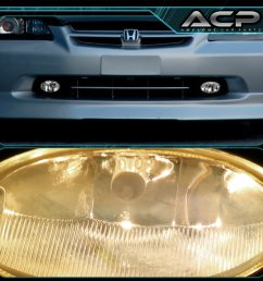 01 03 civic 98 00 accord jdm 2 4 dr em cg fog lights lamps clear wiring harness [ 1296 x 1296 Pixel ]