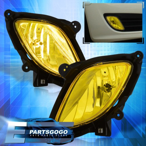 small resolution of details about for 10 12 hyundai genesis coupe kdm bumper driving fog lights harness yellow