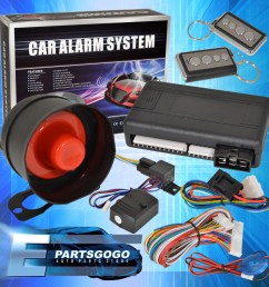 details about jdm remote starter engine start car alarm system with siren acura integra rsx [ 1296 x 1296 Pixel ]