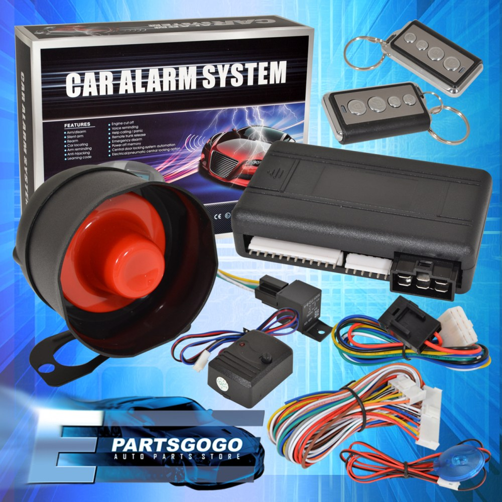 medium resolution of details about jdm remote starter engine start car alarm system with siren acura integra rsx