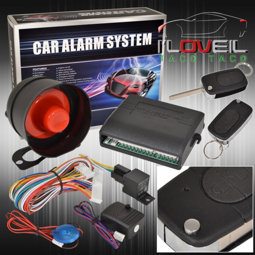 small resolution of details about jdm car alarm security system remote transmitters with flip keys for toyota