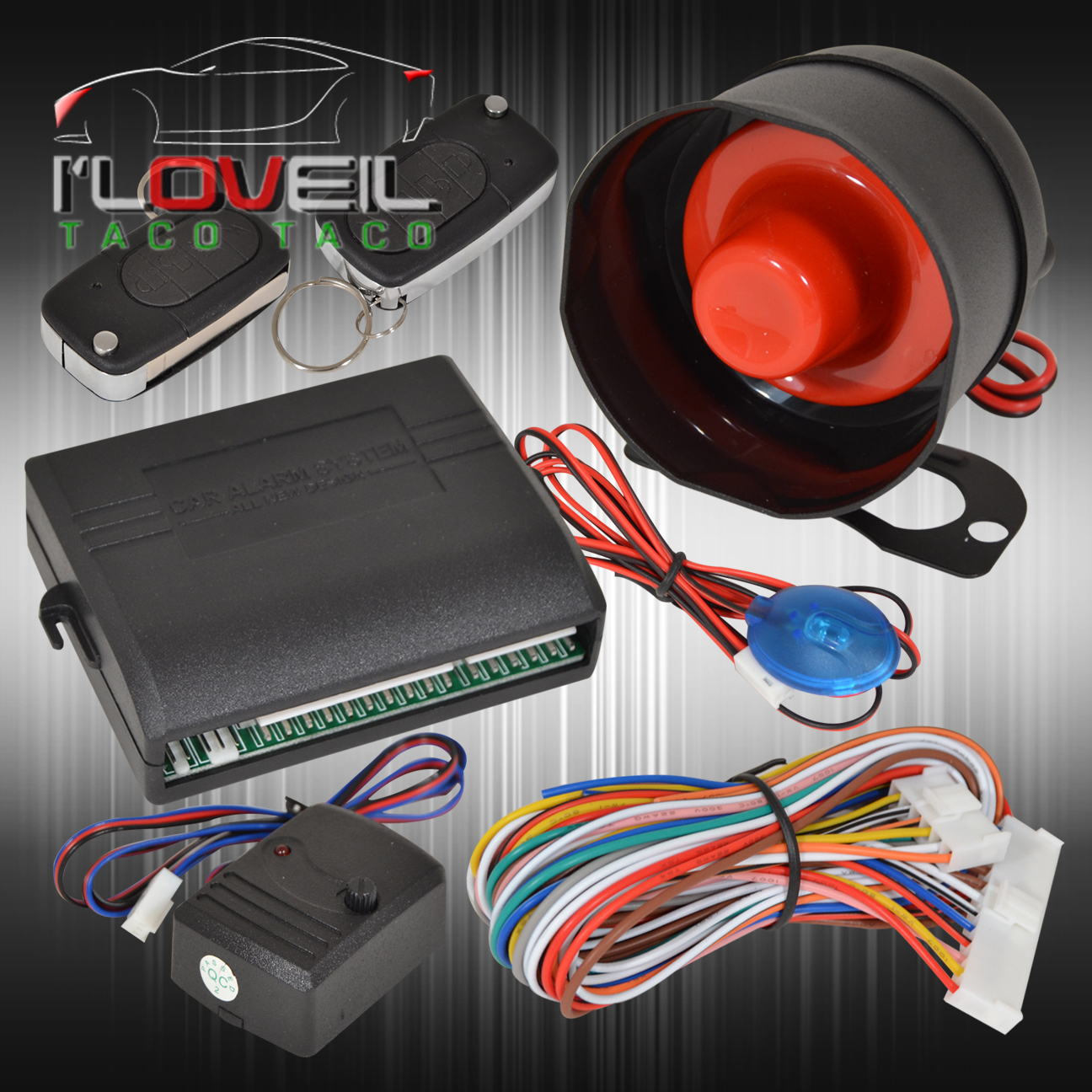 car alarm wiring diagram toyota volleyball 5 1 offense jdm security system remote transmitters with