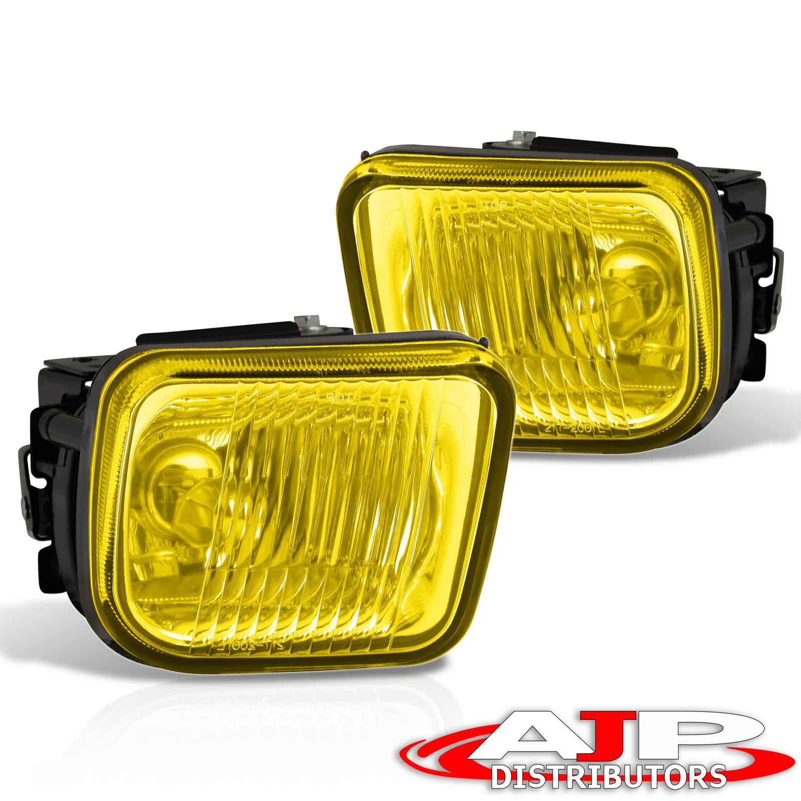Yellow Fog Light Bulbs