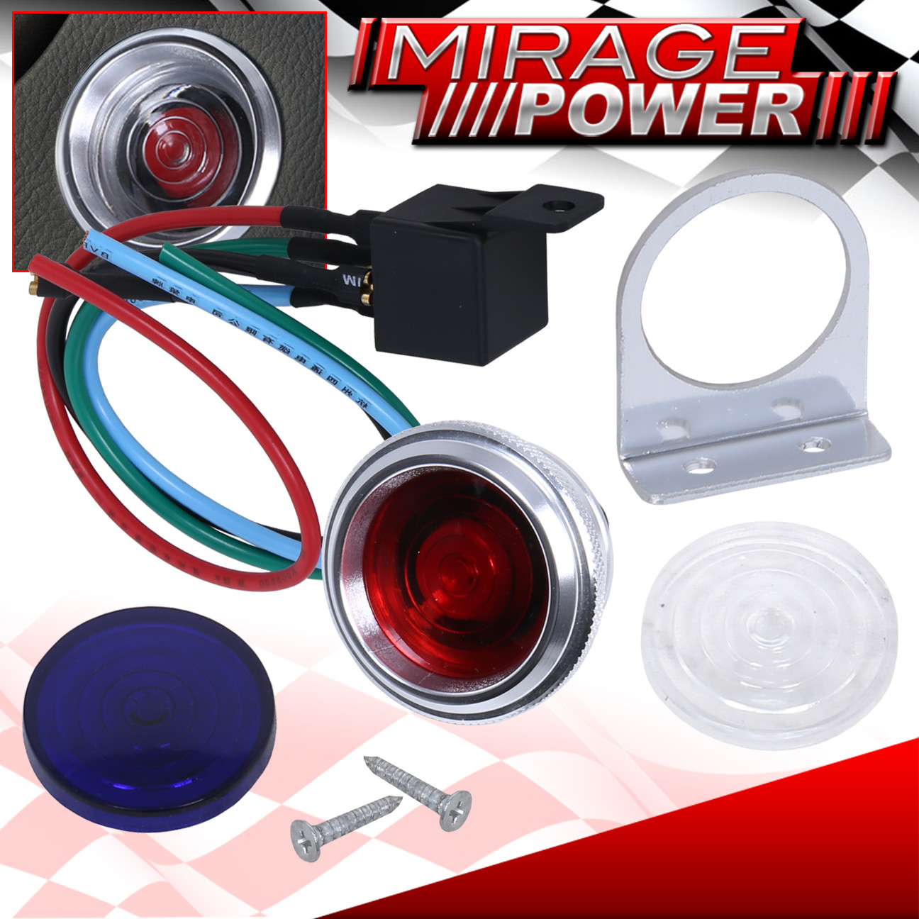 hight resolution of details about 12v push start button engine starter ignition kit for honda civic accord crx