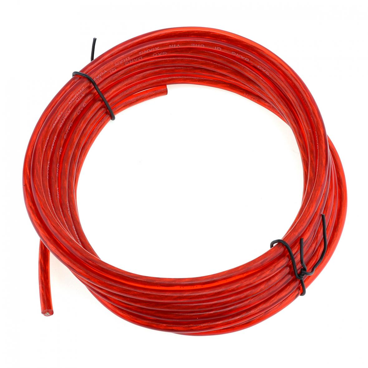 hight resolution of 1 set car amp audio amplifier cable speaker subwoofer audio wiring kit w fuse 5 5 of 12