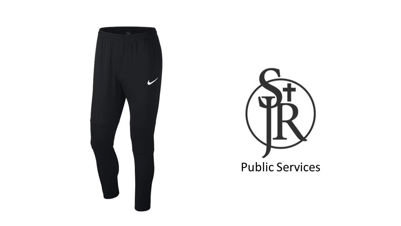 St John Rigby College Public Services Training Pants