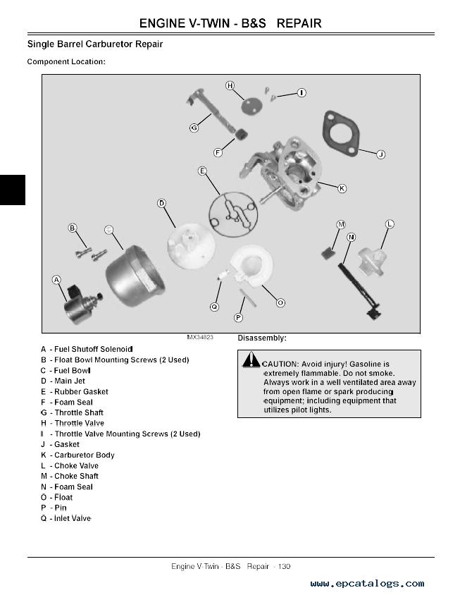john deere 111 wiring diagram sacroiliac joint l100, l108, l110, l111, l118, l120, l130 lawn tractors tm2026 technical manual pdf ...