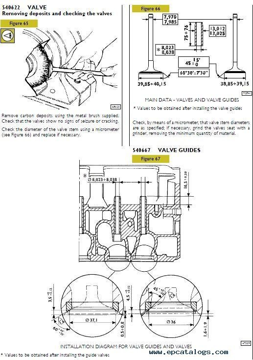 Iveco C13 ENT TIER2, repair manual, Engines