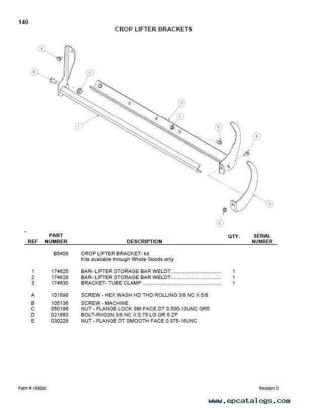 Macdon D50/D60 Harvest Header FD70 Combine Header