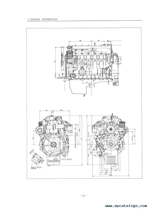 Daewoo Doosan Storm Engine D2366/T, D1146/T Repair Manual PDF
