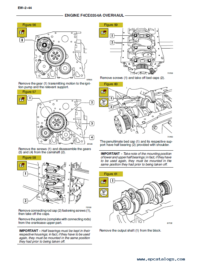 New Holland Engine 334T/M2 Download PDF Service Manual