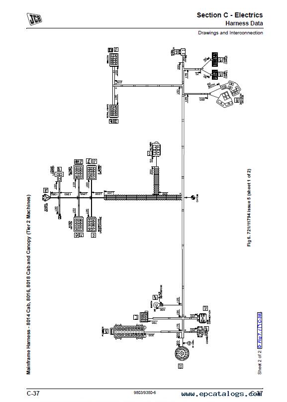 Download JCB Excavators 8014 8016 8018 8020 Service Manual PDF