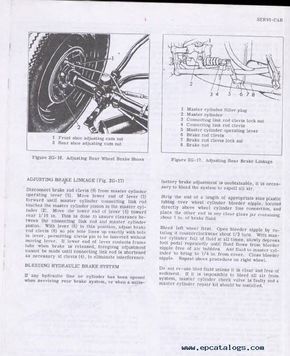 Download Harley Davidson 45SV, Servi-Car Service Manual