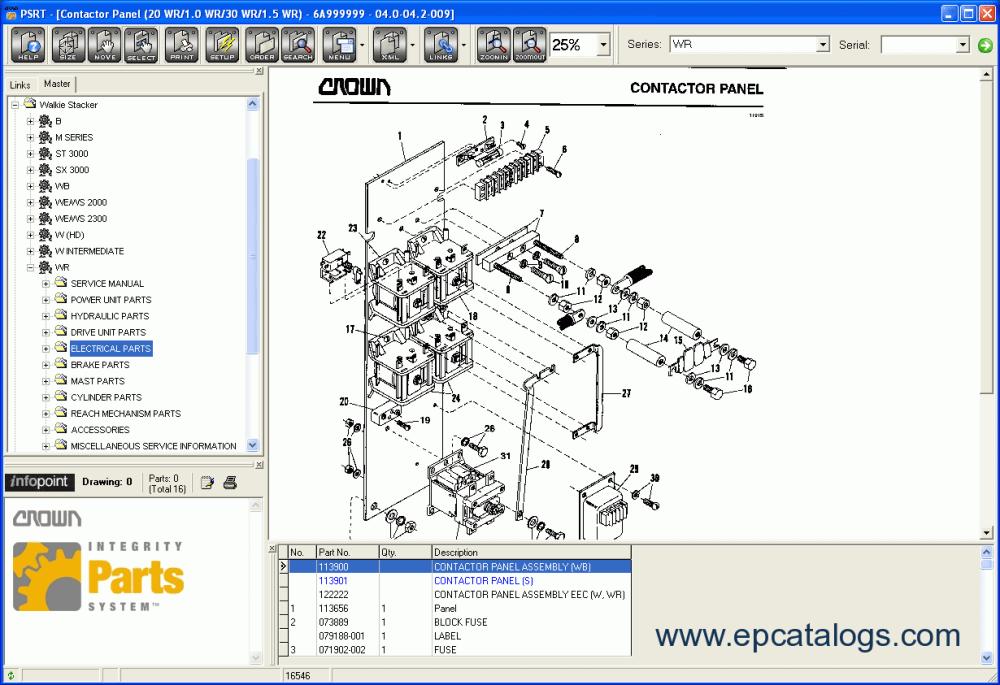 medium resolution of repair manual crown parts service resource tool 4