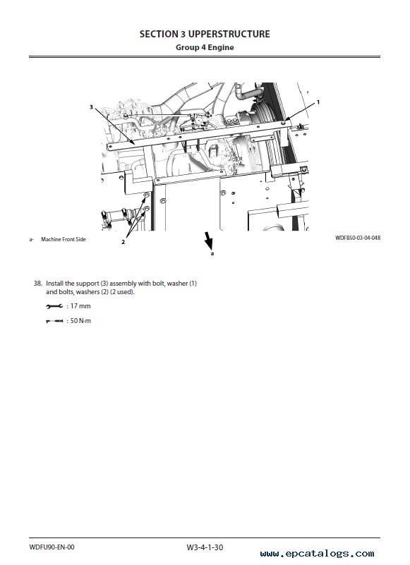 Hitachi Hydraulic Excavator ZX225US(LC)-5A Workshop PDF