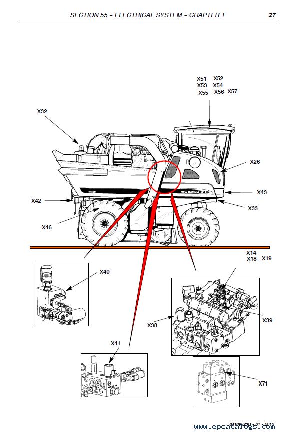 New Holland VL5060-VM4090 Harvester Download PDF Service