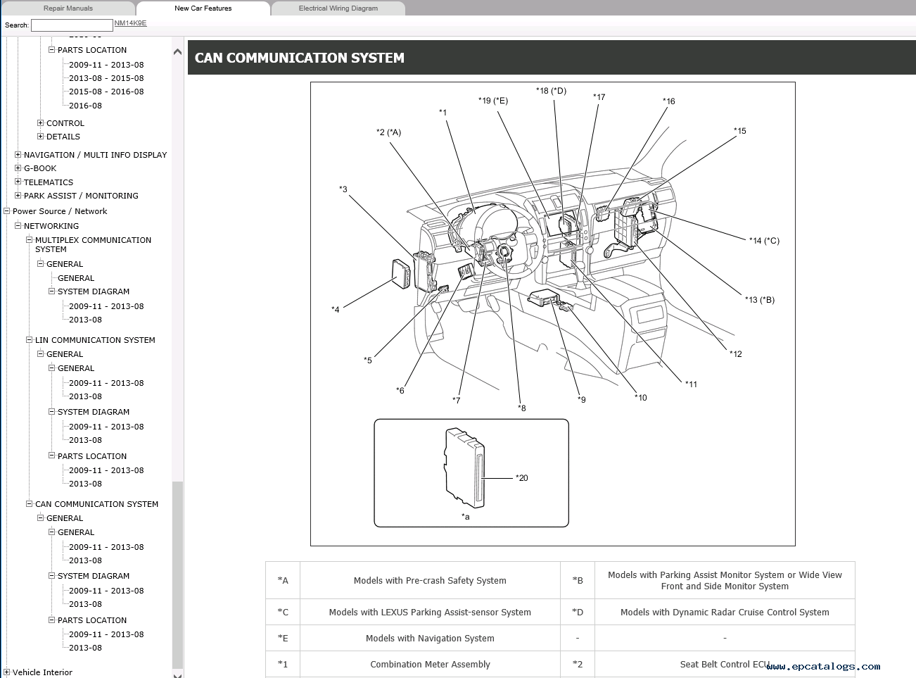 Lexus GX460 Repair Manual 11-2009 Download