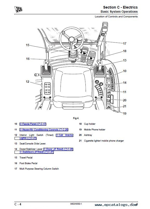 Download JCB Excavator JS175W Auto Service Manual PDF