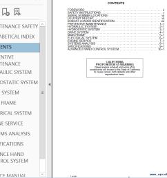 repair manual bobcat 763 763 high flow loaders service manual pdf 1 [ 1021 x 798 Pixel ]