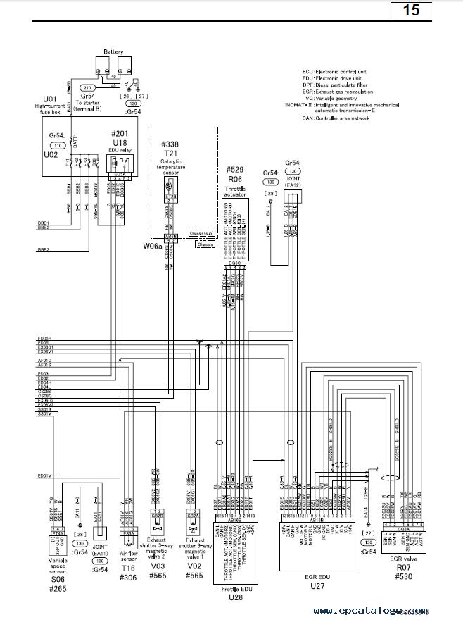 mitsubishi fuso canter electrical diagram