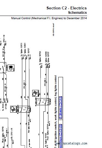 Download PDF Service Manual JCB Backhoe Loaders