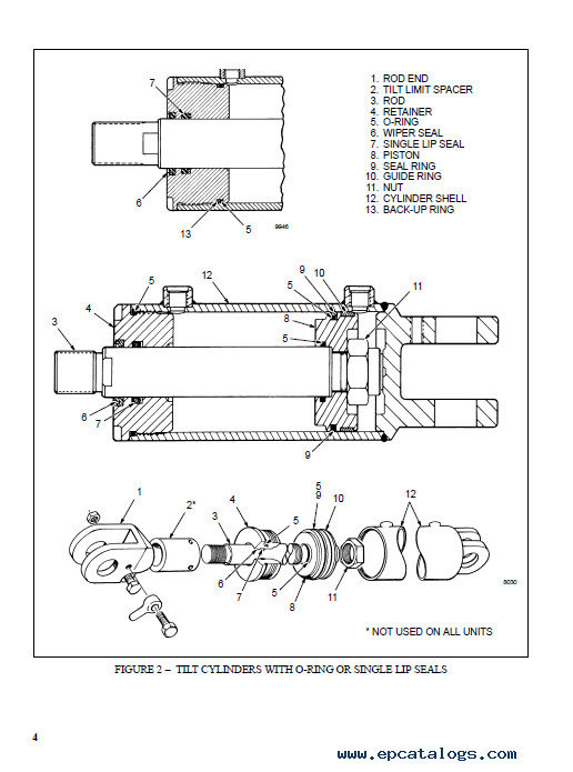 Hyster Class 1 B114 E20-30BS Europe Motor Rider Trucks PDF