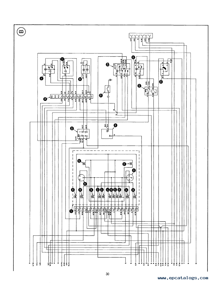model a ford wiring diagram underfloor heating thermostat new holland series 10, 30 tractor service manual pdf download