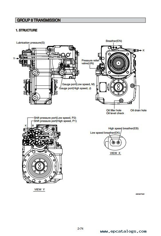 Hyundai R180W-9S Wheel Excavator Workshop Manual PDF Download