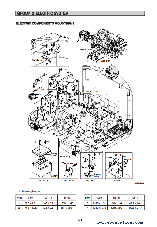 Hyundai R235LCR-9 Crawler Excavator Service Manual Download