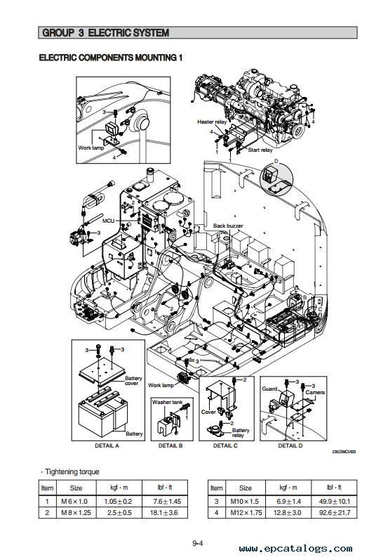Hyundai R235LCR-9 Crawler Excavator Service Manual Download