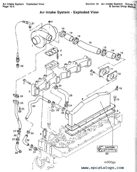 Cummins Engine B-series 4BT3.9 & 6BT5.9 Manual Download